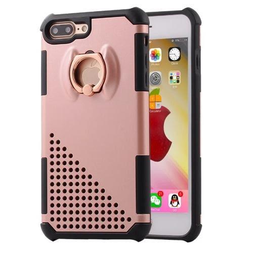 新款 韓國 金屬 電鍍 指環扣 支架 防摔 手機殼 保護套 蘋果 6s 蘋果 iPhone 7/8 plus i7 6p i6