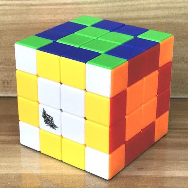 ?旋風小子魔方四階實色順滑專業4階學生比賽專用兒童節介玩具