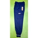亞曼尼台灣製造束口工作運動褲(8013-藍色)【前褲襠有拉鍊-右側袋-】
