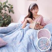床包 / 雙人加大【綠葉扶花】含兩件枕套 60支天絲 戀家小舖台灣製AAU301