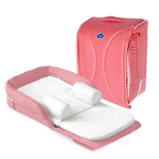 里和Riho BabyCot 可攜式嬰兒床 攜帶式 行動床 繽紛桃 外出床 攜帶床 安撫床 免運 彌月禮