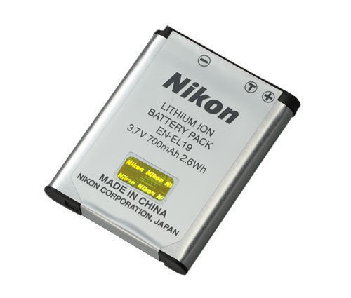 【福笙】Nikon EN-EL19 EN-EL19 原廠鋰電池 適用A100 W100 S32 S100 S3100 S3500 S5200 S6800 S7000