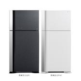 日立570公升雙門(與RG599B同款)冰箱GGR琉璃灰RG599BGGR