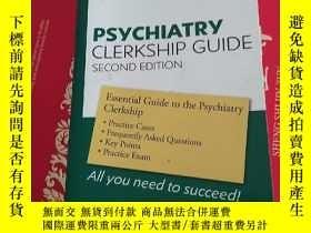 二手書博民逛書店psychiatry罕見clerkship guide seco