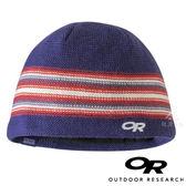 【OR 美國】Outdoor Research 兒童防風保暖羊毛帽『藍紫/紅條紋』243626 登山.露營.休閒