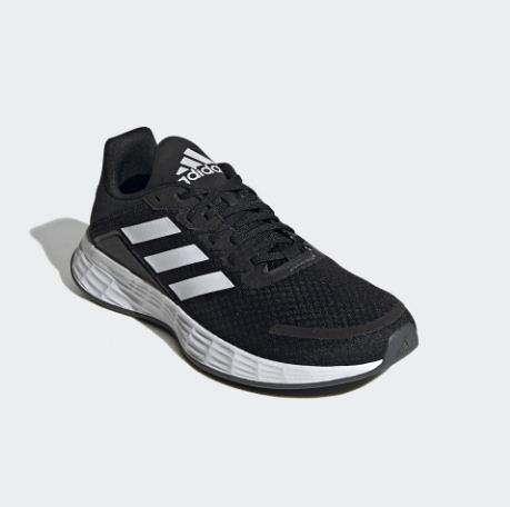 Adidas-DURAMO SL 男童/女童黑白運動鞋-NO.FX7307