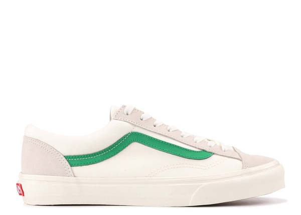 Vans Style36 米白 綠色 綠線 麂皮 帆布 GD 權志龍 VN0A3DZ3RFX