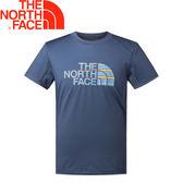 【The North Face 男款 短袖排汗衣《藍》】NF0A2SMZ/排汗衣/短袖/圓領T恤★滿額送