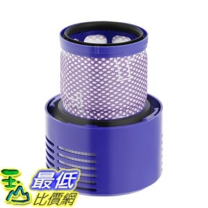 [8美國直購] Dyson V10 用相容型濾網 isinlive Filter Replacement Washable Compatible Dyson V10 SV12