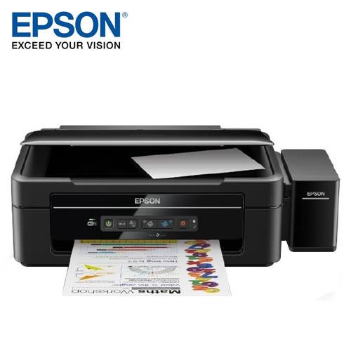 EPSON 愛普生 L385 高速WiFi連續供墨印表機【加贈行動電源】