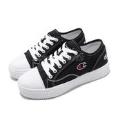 Champion 休閒鞋 Cookie 黑 白 女鞋 復古 餅乾鞋 基本款 運動鞋【PUMP306】 922220211