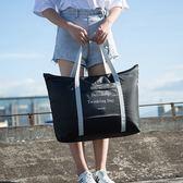 拉桿包 行李袋 收納袋 肩背包 大容量 旅遊 購物袋  韓國手提折疊拉桿包 ◄ 生活家精品 ►【N107】