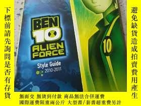 二手書博民逛書店BEN罕見10 ALIEN FORCE:本10外星人力量(外文)