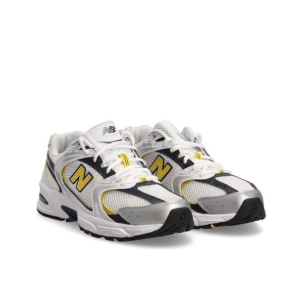 New Balance 男款白黃黑三色網布運動休閒鞋-NO.MR530UNX
