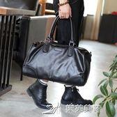 新韓版男包 單肩包斜背包休閒男包大包潮流時尚手提包旅行包 樂芙美鞋