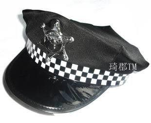 道具警察帽子
