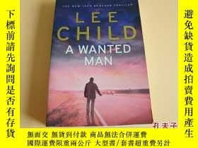 二手書博民逛書店英文原版LEE罕見CHILD A WANTED MAN。Y178606 Lee Child Bantam Pr
