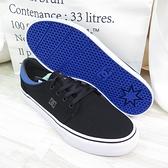 DC TRASE TX 男款 運動鞋 滑板鞋 休閒鞋 300656XKKB 黑X藍【iSport愛運動】