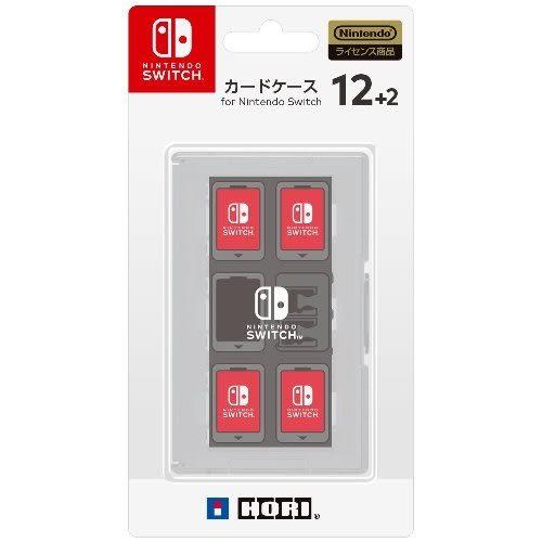 【軟體世界】Nintendo Switch NS HORI 遊戲收納盒12+2 (白) (NSW-024)