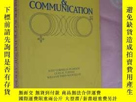 二手書博民逛書店稀見英文原版罕見GENDER & COMMUNICATION 《