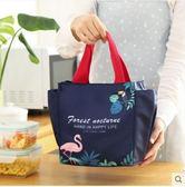 裝飯盒的手提包便當包帆布保溫飯盒袋子大號防水午餐包保冷袋