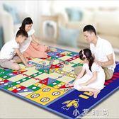 兒童爬爬墊 遊戲墊飛行棋類地毯大號雙面遊戲墊親子兒童益智桌遊玩具 小艾時尚.NMS