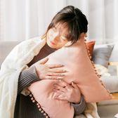 公主可愛粉色客廳沙發抱枕靠墊靠枕床頭午睡枕汽車腰枕簡約可拆洗WY【店慶滿月好康八折】
