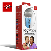【敦煌樂器】IK Multimedia iRig Voice Blue 行動裝置麥克風 天空藍