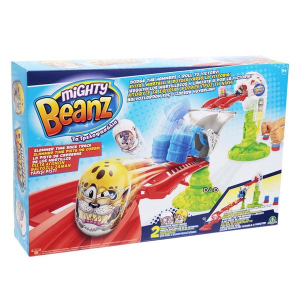 《 Mighty Beanz》瘋狂競豆競賽組╭★ JOYBUS玩具百貨