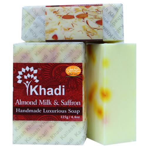 Luxurious-手工皂-杏仁牛奶及藏紅花