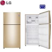 汰舊退稅最高補助5千元【LG樂金】496L 直驅變頻上下門冰箱《GN-BL497GV》光燦金 壓縮機十年保固