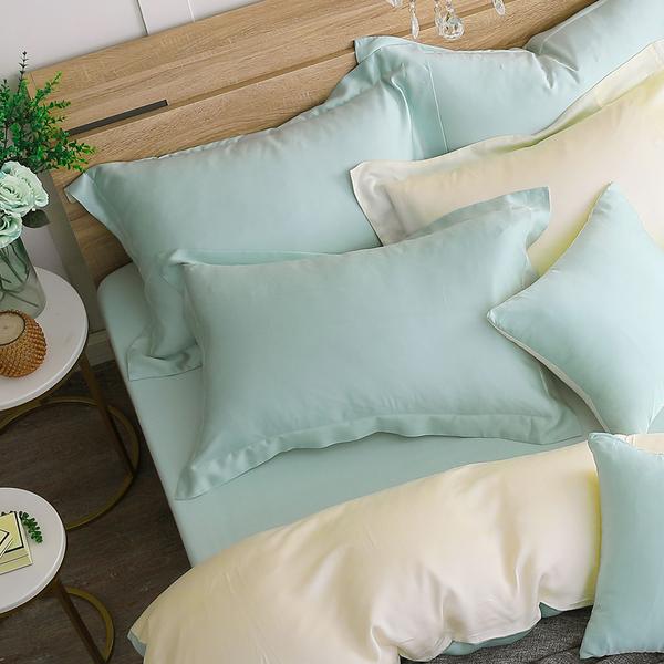 鴻宇 雙人加大床包薄被套組 天絲300織 最好的里爾克 台灣製M2625