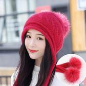月子帽 孕婦帽子冬季產婦帽產后帽子保暖加厚坐月子帽孕媽媽帽LB2412【Rose中大尺碼】