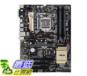 [105美國直購] 主機板 ASUS ATX DDR3 1800 Motherboards H170-PLUS D3 B013HHFP66