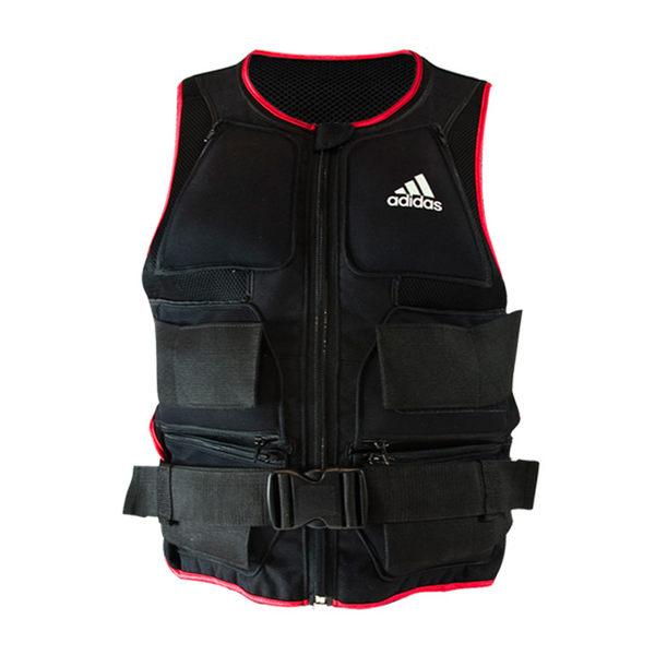 adidas愛迪達 可調式負重背心10kg-負重沙袋 跑步 運動裝備 健身器材 敏捷 爆發力