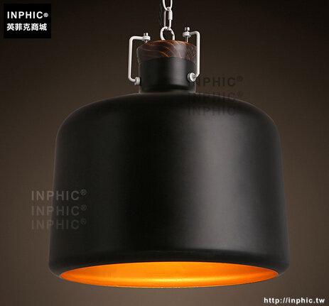 INPHIC- 北歐簡約鐵鍊單頭燈飾吧台餐廳玄關會議室臥室小吊燈_S197C