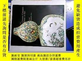 二手書博民逛書店CHRISTIE S罕見FINE CHINESE CERAMICS AND WORKS OF ART PART I