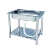 富麗不銹鋼加高加大型單水槽