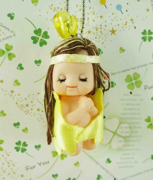 【震撼精品百貨】Q比_Kewpie~鎖圈-黃女神