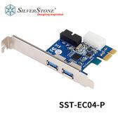 SilverStone 銀欣 SST-EC04-P USB3.0 擴充卡