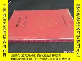 二手書博民逛書店TREASURY罕見OF THAI LITERATURE5919