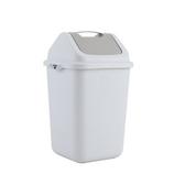 手提搖蓋垃圾桶10L
