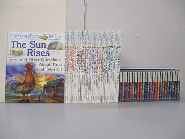 【書寶二手書T1/少年童書_FG8】I Wonder Why-The Sun Rises等_24書+24光碟合售