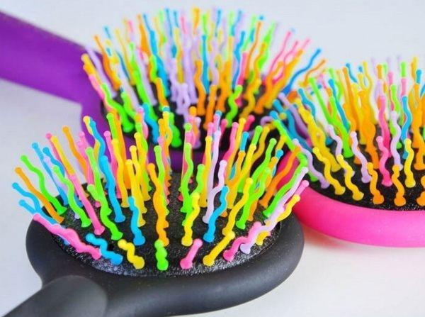 神奇彩虹氣囊按摩梳.防靜電 球梳 空氣蓬鬆捲髮 魔法梳 炸彈梳按摩梳彩虹梳子【H00491】