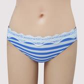 【瑪登瑪朵】S-Select條紋  低腰三角萊克褲(條紋藍)(未滿3件恕無法出貨,退貨需整筆退)