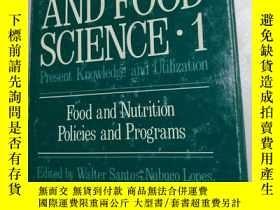 二手書博民逛書店NUTRITION罕見AND FOOD SCIENCE Pres