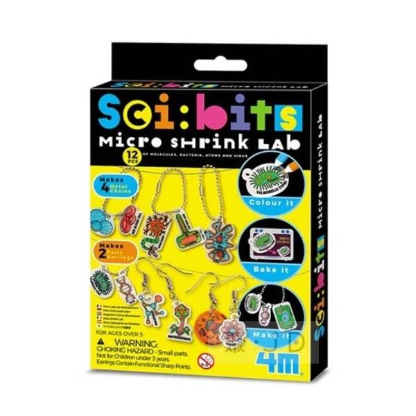 【4M】03322 微生物吊飾 Micro Shrink Lab