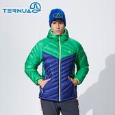 【西班牙TERNUA】男款Pertex羽絨保暖外套1642795 (S-XL) / 城市綠洲(鵝絨、輕量、防潑水、防風)