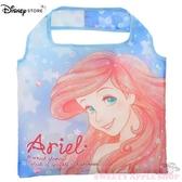 日本 DISNEY STORE 迪士尼商店限定 小美人魚 摺疊收納式 隨身購物袋 / 手提袋
