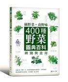 (二手書)摘野菜.食野味:400種野菜辨別與食用圖典百科(4版)